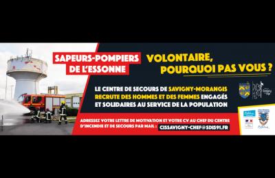Sapeurs Pompiers Volontaires Pourquoi Pas Vous Savigny